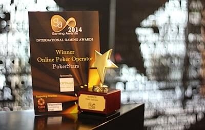 Один из Оскаров игровой индустрии получает PokerStars!