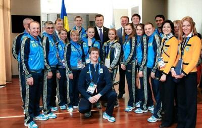 Янукович приехал в Сочи  поднять боевой дух украинских спортсменов