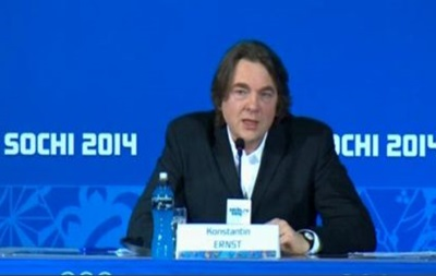 Константин Эрнст рассказал о некоторых деталях церемонии открытия Игр в Сочи