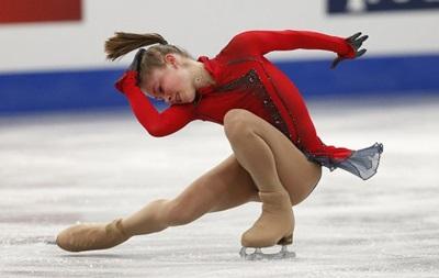 Лучшей в короткой программе в танцах на льду стала 15-летняя россиянка