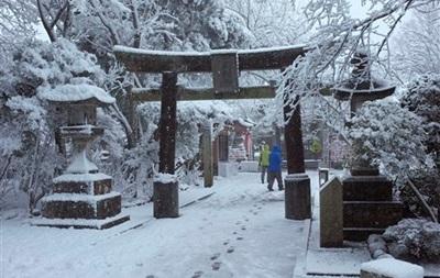 Число погибших из-за сильного снегопада в Японии возросло до 13 человек