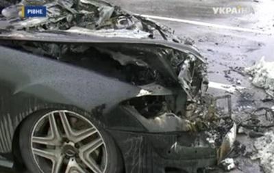 В Ровно бывшему зятю Ющенко сожгли автомобиль