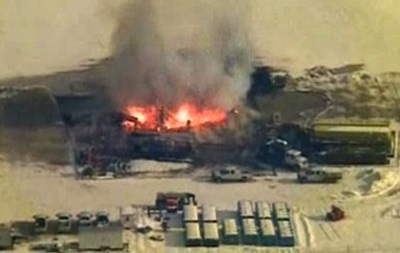 В США взорвалась газовая скважина компании Chevron