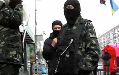 На Евромайдане произошел конфликт между охраной и журналистами