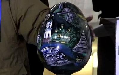 В Украинском доме установили  яйцо власти