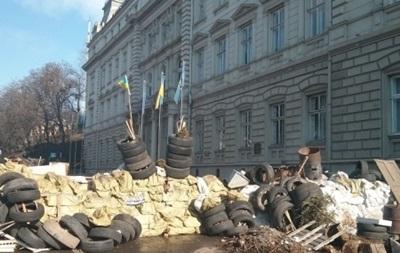 Отряды самообороны во Львове заявляют, что не получали приказа о разблокировании ОГА