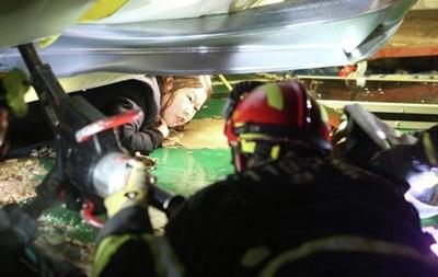 Десять человек стали жертвами обрушения здания в Южной Корее