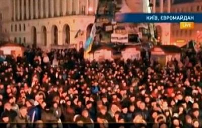 Несмотря на осаду, на Майдан продолжают прибывать люди