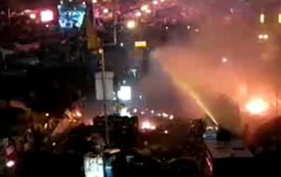 На Майдане водомет насмерть переехал митингующего
