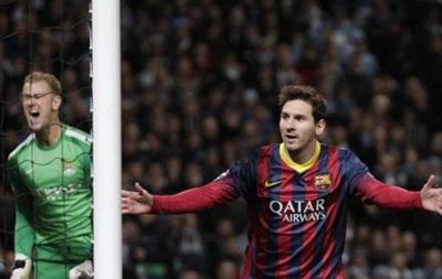 Барселона в выездном матче берет верх над Манчестер Сити