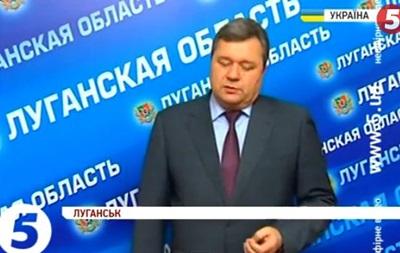 Луганские депутаты призвали Януковича ввести чрезвычайное положение