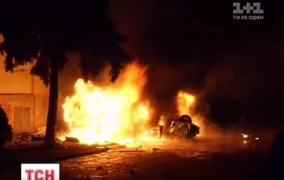 Бои в Киеве. Видеосюжет об итогах прошедшей ночи
