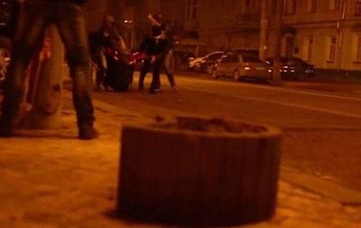 Видео: неизвестные обстреляли митингующих из огнестрельного оружия