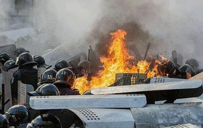 В Киеве погибли трое сотрудников крымского Беркута - спикер парламента Крыма