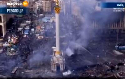 Противостояния на Майдане возобновились