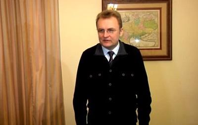 Мэр Львова провел брифинг, посвященный ситуации в городе