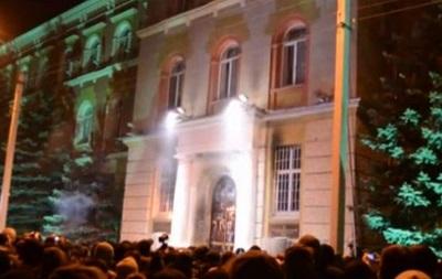 Видеосюжет о захвате по Украине облгосадминистраций