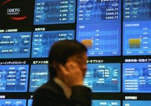 Акции банков Китая и Японии подешевели