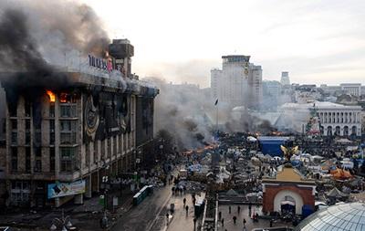 Пожар в Доме профсоюзов ликвидирован - ГСЧС