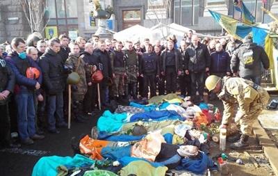 С пулевыми ранениями. На улицах Киева - 32 тела погибших