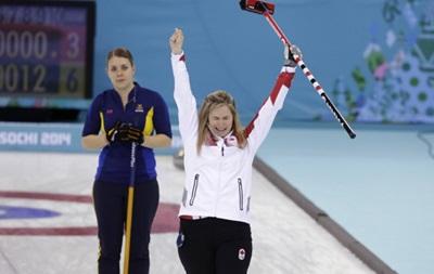 Женская сборная Канады по керлингу завоевала золото на Олимпиаде в Сочи