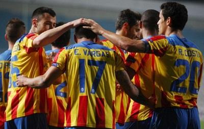 Динамо без шансов уступает Валенсии