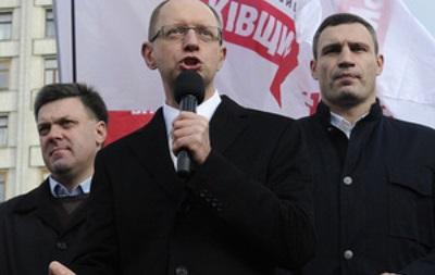 Лидеры оппозиции идут на переговоры с президентом с участием международных посредников