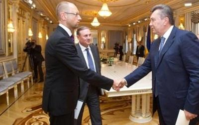 Янукович, оппозиция и министры ЕС в 12.00 парафируют соглашение по урегулированию кризиса