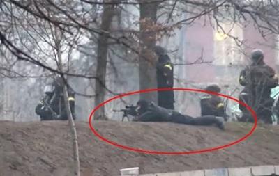 В Киеве от пуль снайперов погибли около 100 человек