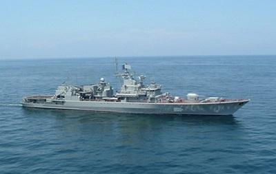 Украинский фрегат Сагайдачный вышел на финальное дежурство в Аденском заливе