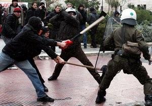 Забастовка госслужащих парализовала Грецию