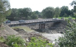 новости Ивано-Франковской области - Косов - дороги - транспорт - наводнение - В Ивано-Франковской области разрушилась часть дороги