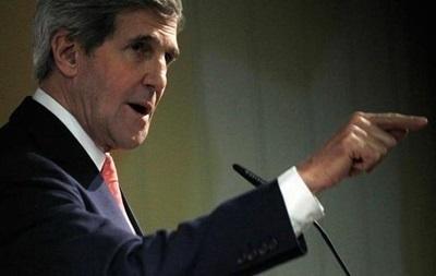 Керри пообещал срочно использовать рычаги Вашингтона для воздействия на оппозицию Украины