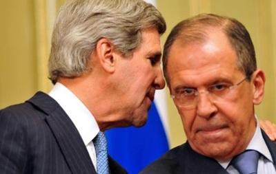 Керри и Лавров по телефону обсудили ситуацию в Украине