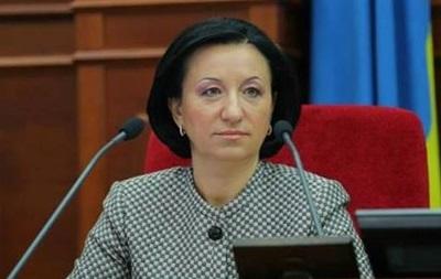 Герега написала заявление об отставке