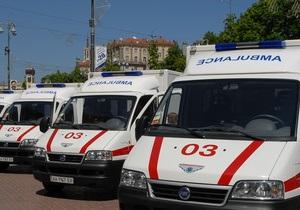 В Жмеринке водитель выехал на тротуар и сбил двоих детей