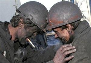 Украина намерена увеличить добычу угля до 82 млн тонн