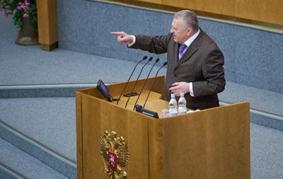 Жириновский: главный смысл всех революций в Украине - ударить по русскому народу