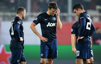 Манчестер Юнайтед сенсационно повержен в Греции