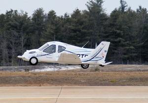 Летающему авто в США дали разрешение на полеты и езду