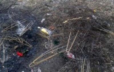 Возле Киева неизвестные надругались над могилой одного из погибших из Небесной Сотни