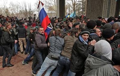 В Крыму на митинге скончался мужчина