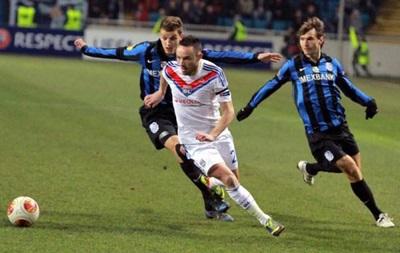 Лион - Черноморец - онлайн трансляция матча Лиги Европы