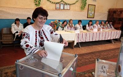 Выборы мэров в ряде городов Украины