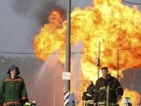 Из-за пожара в Москве пострадали 80 машин и лаборатории двух НИИ