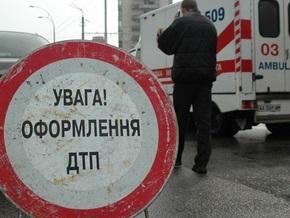 В Киевской области участковый насмерть сбил жениха и невесту