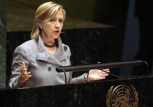 Клинтон не исключает возможность применения силы в отношении Сирии