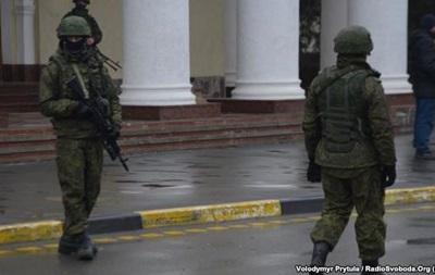 Российские военные захватили госпредприятие Крымаэрорух - источник