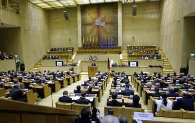 Сейм Литвы проголосует проект закона Майдана