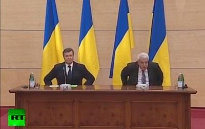 Янукович: Россия должна использовать все возможности, чтобы предотвратить хаос в Украине